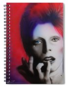 Ziggy Stardust Spiral Notebook