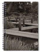 Zigzag Walkway Spiral Notebook