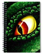 'zilla's Eye On You Spiral Notebook