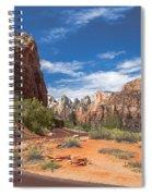 Zion Mount Carmel Highway Spiral Notebook