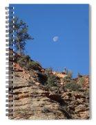 Zion National Park Moonrise Spiral Notebook