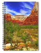 Zion Park Canyon Spiral Notebook