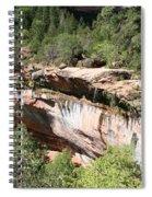 Zion Park Rim Spiral Notebook