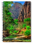 Zion Spiral Notebook