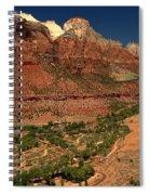 Zion White Caps Spiral Notebook