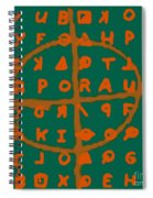 Zodiac Killer Code And Sign 20130213p28 Spiral Notebook