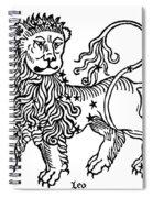 Zodiac Leo, 1482 Spiral Notebook