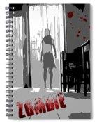 Zombie Attack Spiral Notebook