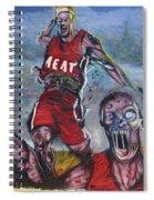 Zombie Heat Spiral Notebook