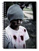 Zombie Kid Spiral Notebook