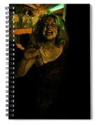 Zombie Night Spiral Notebook