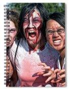 Zombie Run Nola 24 Spiral Notebook