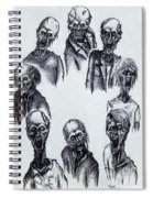 Zombies Spiral Notebook