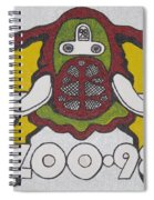 98 Kzew Radio Logo Spiral Notebook