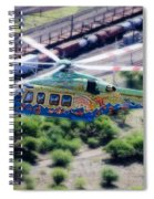 Zoo Flying Spiral Notebook