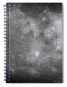 Zoom In Moon Spiral Notebook