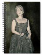 Zsazsa Gabor In The 1950's Spiral Notebook