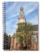 Zuiderkerk In Amsterdam Spiral Notebook