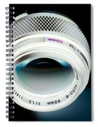 Zuiko 50mm F1.2 Spiral Notebook