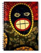 Zulu Man In Lomo Spiral Notebook