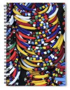 Zulu Necklace Spiral Notebook