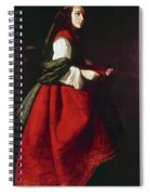 Zurbur�n Saint Casilda Spiral Notebook