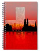 Zurich City Spiral Notebook