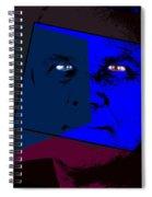 Zweistein - The Brain Man Spiral Notebook