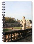 Zwinger Courtyard  Dresden  Spiral Notebook