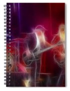Zz Top-rhythmeen-c23-fractal-4 Spiral Notebook