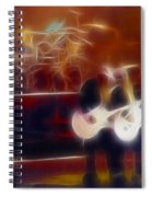 Zztop Recycler Group Fractal Spiral Notebook