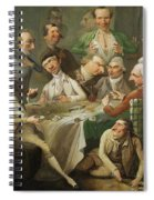 A Caricature Group Spiral Notebook