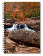 Autumn Leaves At The Mill Spiral Notebook