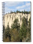 Canadian Rocky Mountain Hoodoos Bc Spiral Notebook