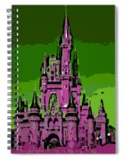 Castle Of Dreams Spiral Notebook