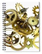 Clockwork Mechanism Spiral Notebook