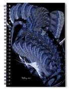 Cryptic Triptych II Spiral Notebook