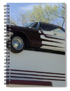 Route 66 De Soto  Spiral Notebook