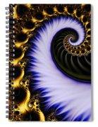 Digital Wave Spiral Notebook