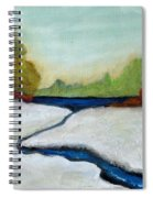 Early Winter Spiral Notebook