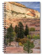 East Zion Canyon Hdr Spiral Notebook