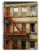 Fire Escapes - Nyc Spiral Notebook