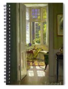 Interior Morning  Spiral Notebook