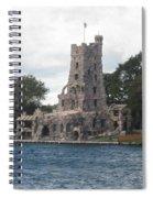 Island Castle Spiral Notebook