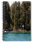 Lake Tahoe Sugar Pine Point Light Spiral Notebook