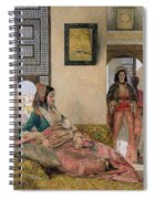 Life In The Harem - Cairo Spiral Notebook