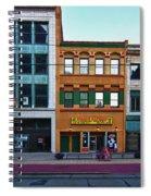 Main Street Decay 11429 Spiral Notebook