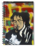 Marley Soul Guitar Spiral Notebook