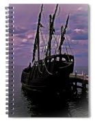 Notorious The Pirate Ship 5 Spiral Notebook
