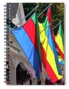 Olcott Flags  7183 Spiral Notebook